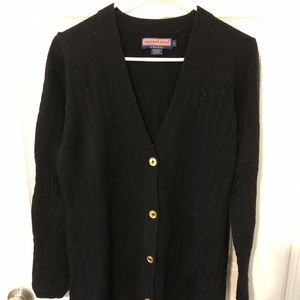 Black Vineyard Vines tunic sweater
